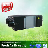 mini industrial residential air to air heat exchanger heat recovery ventilation system