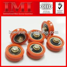 2013 Hot Sale Low Noise and Long Working Life nylon pulley with v groove PP01