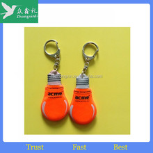 Triangle shape pvc reflective hanger for promotional