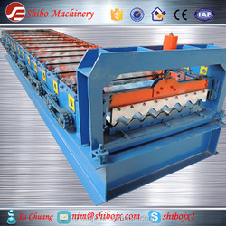 color steel roof tile roll forming machine from china supplier