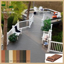 100% recycled top quality wood plastic decking