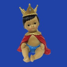 New Products Hand Made Polyresin Vintage Prince Boy Cake Topper