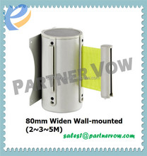 retractable belt safety barricade/safety barrier/stanchion bases