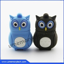 Owl usb pvc pen drive bulk cheap flash drive various color owl usb drive