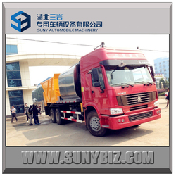 16 cbm high quality Bitumen Patch and Pave trucks for sale, Asphalt Paving Trucks