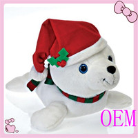 Bear Christmas Animal Toy Plush, Plush Christmas Bear Toy Stuffed Animal