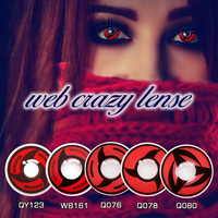 hot selling fashion show sharingan crazy beauty party contact lenses