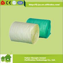 Pocket Filter Nonwoven Fiber Pleated Filter Media Buck Rolls F5-F9 Nonwoven Bag Filter Material