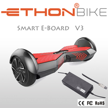 Hot sales 2 wheel electric scooter self balancing with LED light and Max Speed 15km/h scooter electric hands free scooter