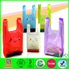 LDPE recycled plastic bags shopping t-shirt plastic bags
