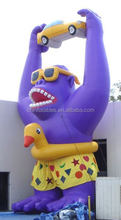 Gorilla balloon inflatable advertisement,custom made shape balloons Y3015
