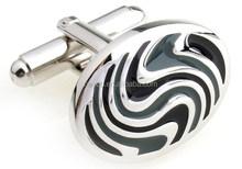 HEYCO oval enamel gi joe cobra ss fashion jewelry cufflink