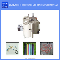 Aluminum evaporation plastic vacuum coating machine / plastic vacuum metallizing plant