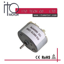micro dc 3v electric motor RF-500 brushed motor / dc motor with Rohs CE /RF-500 3V dc micro motor for car cd player