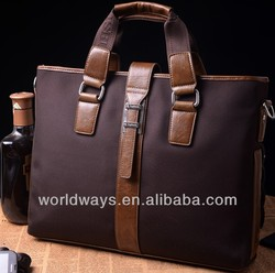 Simple cozy attache case,customized business breifcase with LOGO