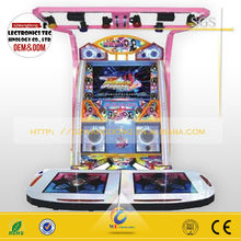 2014 hot sale coin operated dancing machine,arcade dance game machine