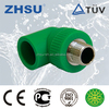 germany standard pp-r pipe fitting, pipe fittings male threaded elbow