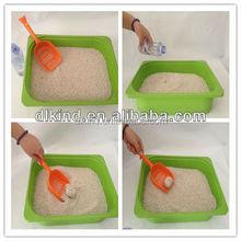 sample free,natural clumping bulk cat litter wholesale