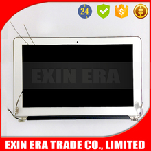 """Replace original 13"""" Laptop lcd screen with AB cover hinges /LCD Assembly/Complete Display for macbook air A1370 2011 2010"""