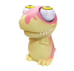 Custom large eyes pop out squeeze toys,Wild animal shaped plastic squeeze toy,OEM squeeze plastic animal toy