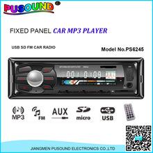 china manufacturer sale audio car mp3 player with USB SD FM AM id3 WMA Bluetooth remote control/car stereo/car audio radio mp3