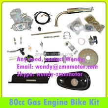 80cc dirt bike kit for sale/80cc motor kit/single cylinder engine bikes kit