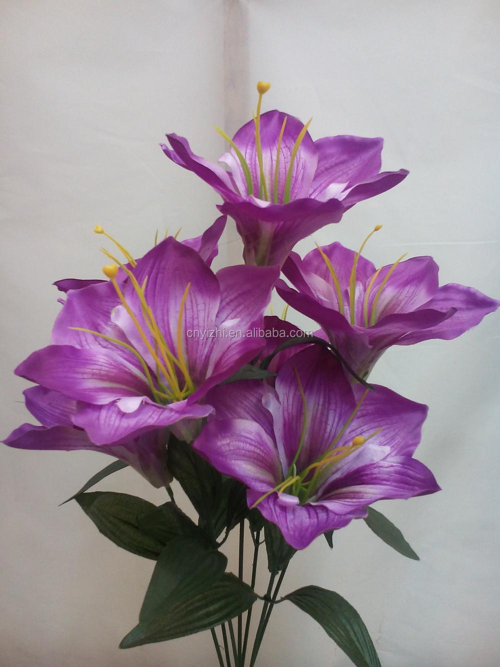 Single Calla Lily Bouquet Artificial Lily Flowers Mini Artificial