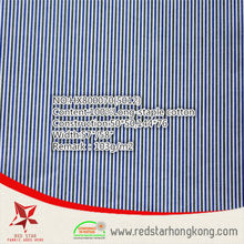 2015 hot sale popular 100% long stapled cotton stripe textile fabrics