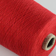 in china open end polyester recycle cotton yarn 20s yarn oe color yarn for weaving