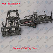 plywood sliding table saw automatic edge saw for woodworking door four-sides cutting saw machine/plywood squaring line