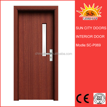 SC-P069 2015 Hot Promotion white frosted glass interior doors