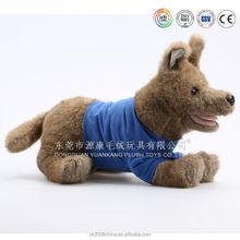 OEM/ODM custom made plush rat dog toy & plush grey dog