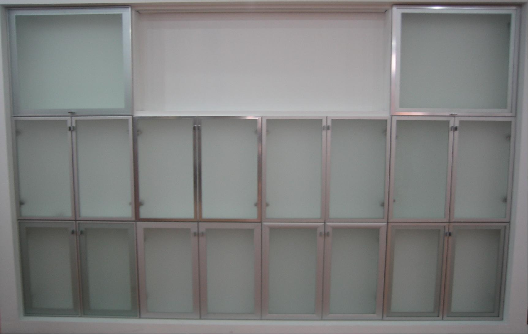 Aluminum frame aluminum frame kitchen cabinet doors for Kitchen cabinets aluminium