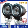 square and round 10w high power motorcycle led driving lights for bike led