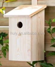 wooden bird nest small wood crafts bird house craft wooden house