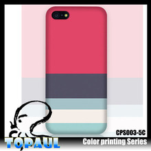 Hot new product customized beautiful plastic color changing cell phone case for iphone5s