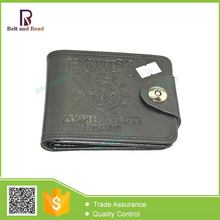 Best Choice useful leather men's wallet with money clip