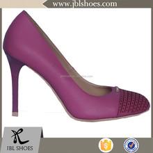 2015 PU upper new style fashion women custom shoes manufacturers high heels