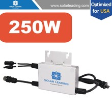 Power one micro inverters compared with on grid string inverters, with best price and higher efficiency