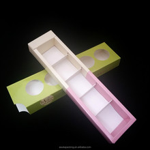 High Quality 6 Cupcake Box Fancy Design Cardboard Cupcake Box
