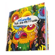kids coloring book with crayon