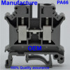 UK terminal block UK6N WAGO high quality din rail screw frame clampping manufacturer fuse modular Track type universal Spring