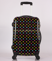 COLORFUL SMALL DOTS CARRY LUGGAGE