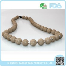 Hot promotional Customized Fun Rosary silicone necklace