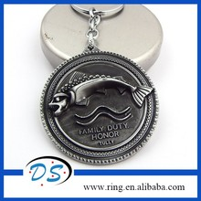 A song of Ice and Fire Keychain Family Honor Metal Tully Keyring