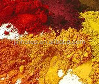 Fine powder iron oxide red and yellow pigments for pavers/concrete/brick