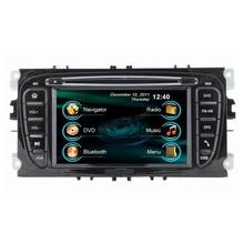 2 din car dvd player gps navigation system for Ford Mondeo