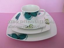 wholesale graceful ceramic tea set for promotion
