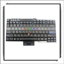 HOT! US For IBM Thinkpad Keyboard Layout R60 T60 Z60 T61 R61 Laptop Black -N7208BL