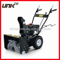 Two Stage Gasoline Snow Machine Cleaning Sweeper